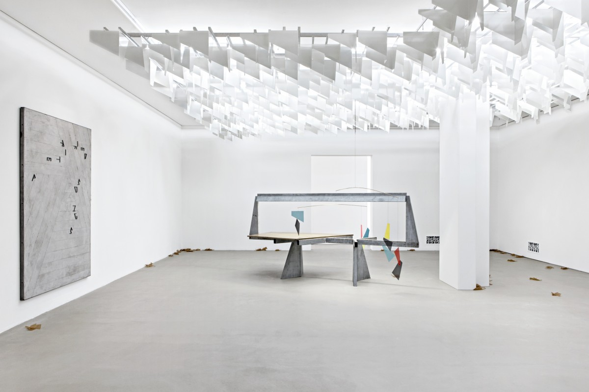 Do Words Have Voices, Martin Boyce