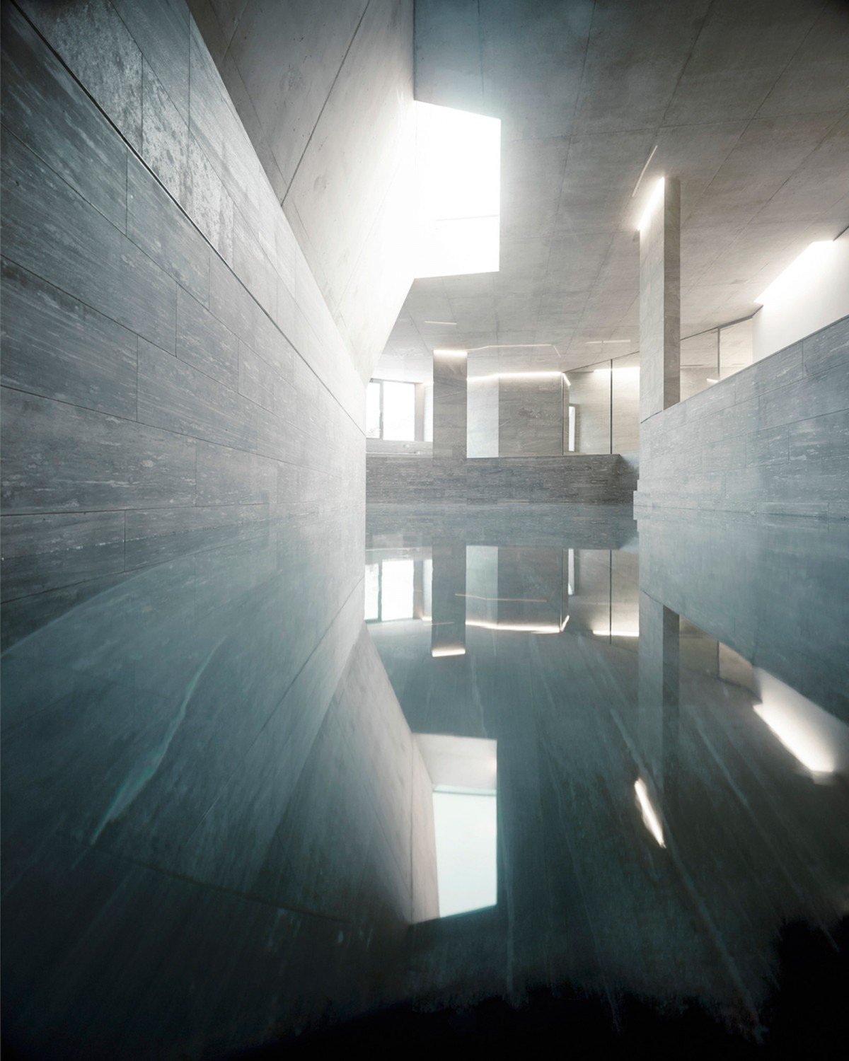 Indoor Pool, Villa Ensemble near Zurich